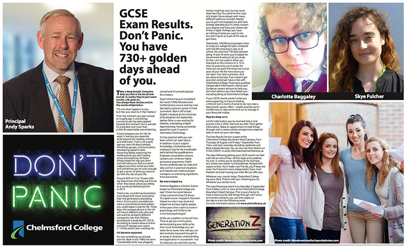 GCSE exam results. Don't Panic!
